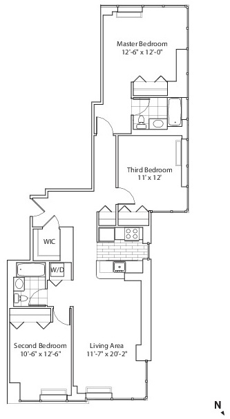 2 Bedrooms, Chelsea Rental in NYC for $5,596 - Photo 2