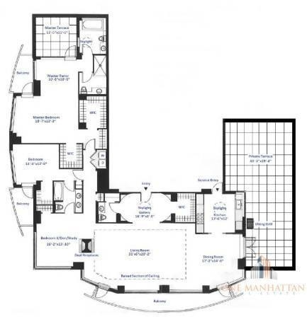 3 Bedrooms, Central Park Rental in NYC for $30,000 - Photo 2