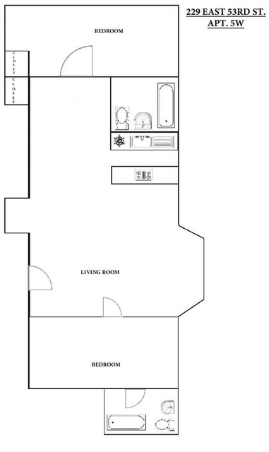 1 Bedroom, Midtown East Rental in NYC for $3,549 - Photo 2