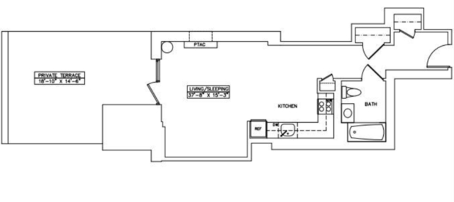 Studio, Chelsea Rental in NYC for $2,826 - Photo 2