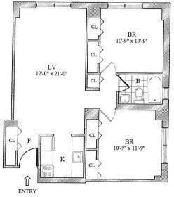 2 Bedrooms, Yorkville Rental in NYC for $3,797 - Photo 1
