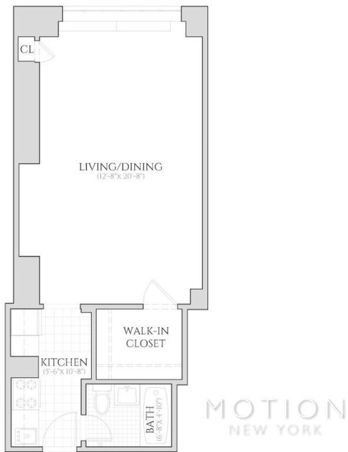 Studio, Turtle Bay Rental in NYC for $2,265 - Photo 2