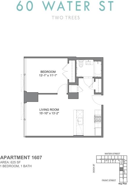 1 Bedroom, DUMBO Rental in NYC for $4,595 - Photo 2