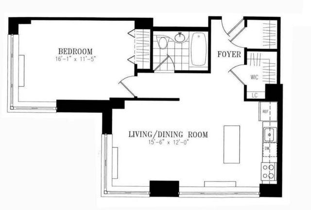 1 Bedroom, NoMad Rental in NYC for $4,380 - Photo 2