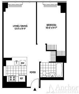 1 Bedroom, Hunters Point Rental in NYC for $2,837 - Photo 2