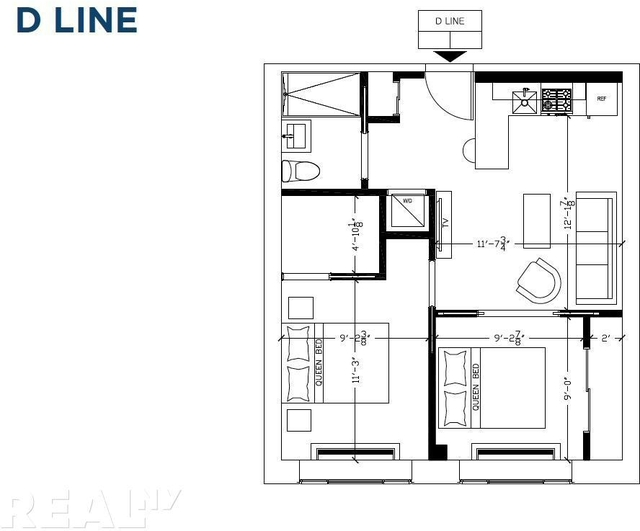 2 Bedrooms, Two Bridges Rental in NYC for $4,079 - Photo 2