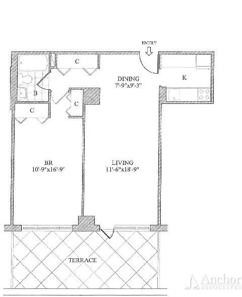 1 Bedroom, Yorkville Rental in NYC for $3,965 - Photo 2