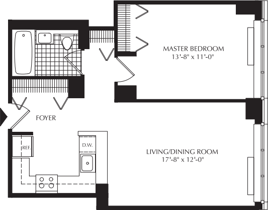 1 Bedroom, Upper West Side Rental in NYC for $3,680 - Photo 2
