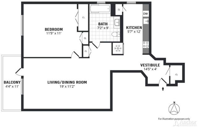 1 Bedroom, Central Harlem Rental in NYC for $2,500 - Photo 2
