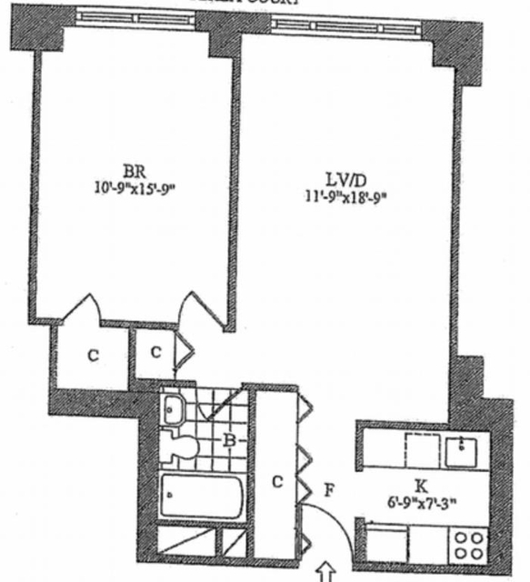 1 Bedroom, Lincoln Square Rental in NYC for $3,925 - Photo 2