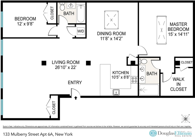2 Bedrooms, Little Italy Rental in NYC for $9,200 - Photo 2
