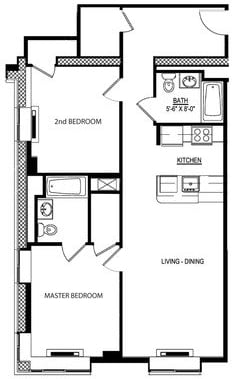 2 Bedrooms, Jamaica Rental in NYC for $2,520 - Photo 2