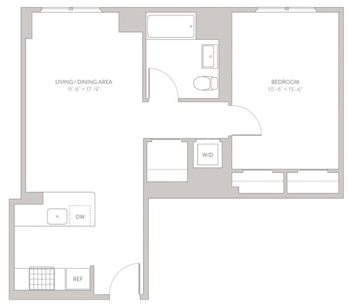 1 Bedroom, Long Island City Rental in NYC for $3,198 - Photo 2
