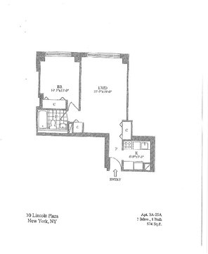 1 Bedroom, Lincoln Square Rental in NYC for $4,895 - Photo 2
