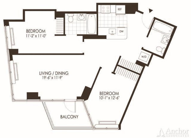 2 Bedrooms, Hunters Point Rental in NYC for $3,966 - Photo 2