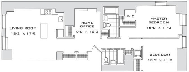 3 Bedrooms, Financial District Rental in NYC for $5,679 - Photo 2