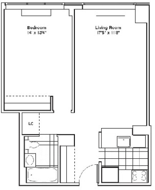 2 Bedrooms, Hell's Kitchen Rental in NYC for $3,255 - Photo 2