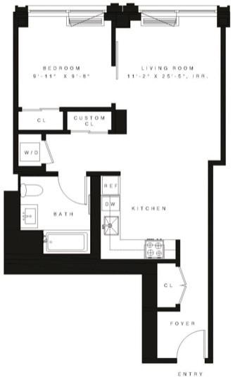 1 Bedroom, Vinegar Hill Rental in NYC for $3,650 - Photo 2