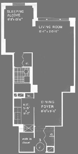 Studio, Gramercy Park Rental in NYC for $3,295 - Photo 2
