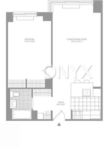 2 Bedrooms, Civic Center Rental in NYC for $3,650 - Photo 2