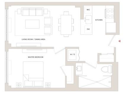 1 Bedroom, Brooklyn Heights Rental in NYC for $3,495 - Photo 2