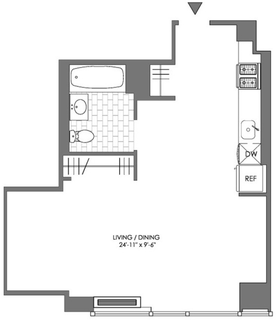 Studio, Downtown Brooklyn Rental in NYC for $2,995 - Photo 2