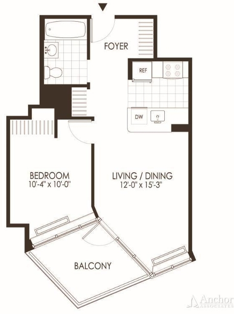 1 Bedroom, Hunters Point Rental in NYC for $2,774 - Photo 2