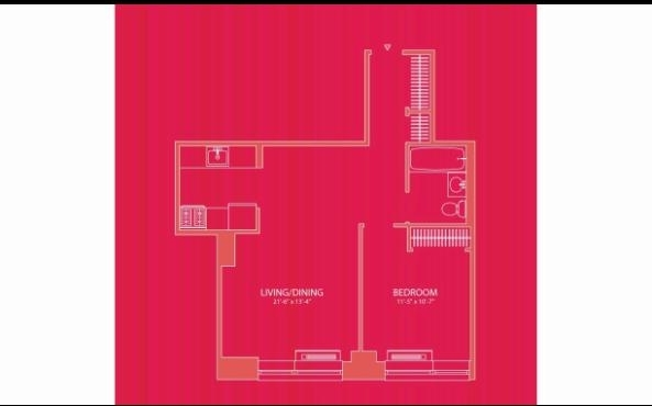 1 Bedroom, Hell's Kitchen Rental in NYC for $2,996 - Photo 2