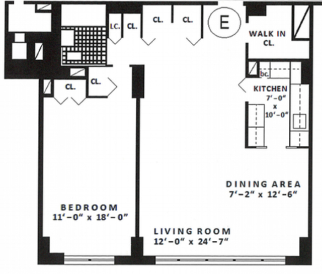 1 Bedroom, Rose Hill Rental in NYC for $3,789 - Photo 2