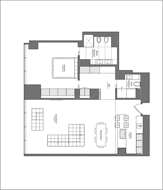 1 Bedroom, Midtown East Rental in NYC for $13,000 - Photo 2