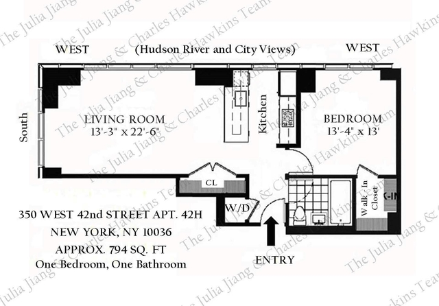 1 Bedroom, Garment District Rental in NYC for $4,500 - Photo 2