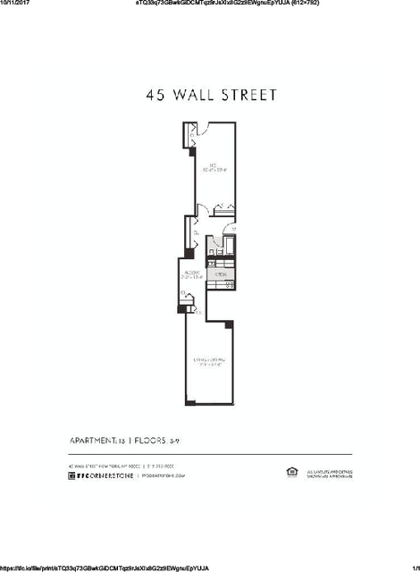 2 Bedrooms, Financial District Rental in NYC for $3,795 - Photo 2