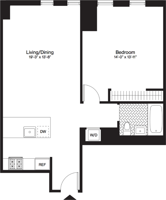 1 Bedroom, Downtown Brooklyn Rental in NYC for $3,928 - Photo 2