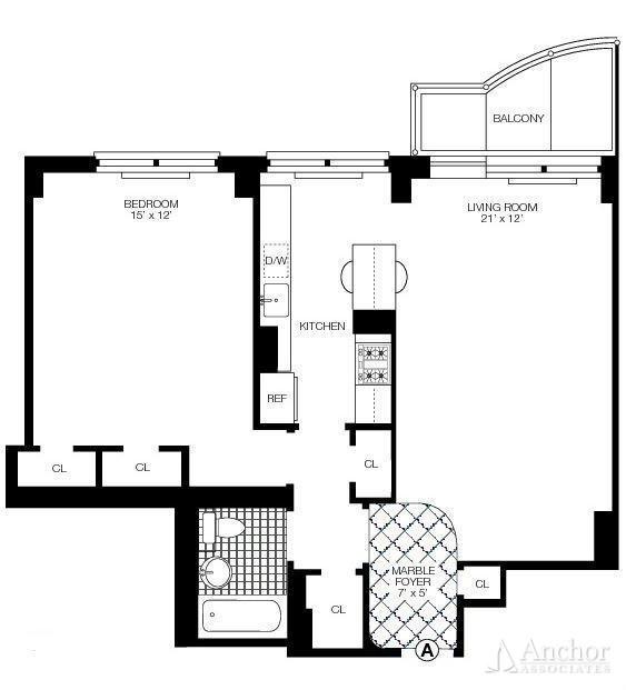 1 Bedroom, Midtown East Rental in NYC for $3,800 - Photo 2