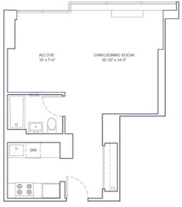 Studio, Chelsea Rental in NYC for $2,975 - Photo 2