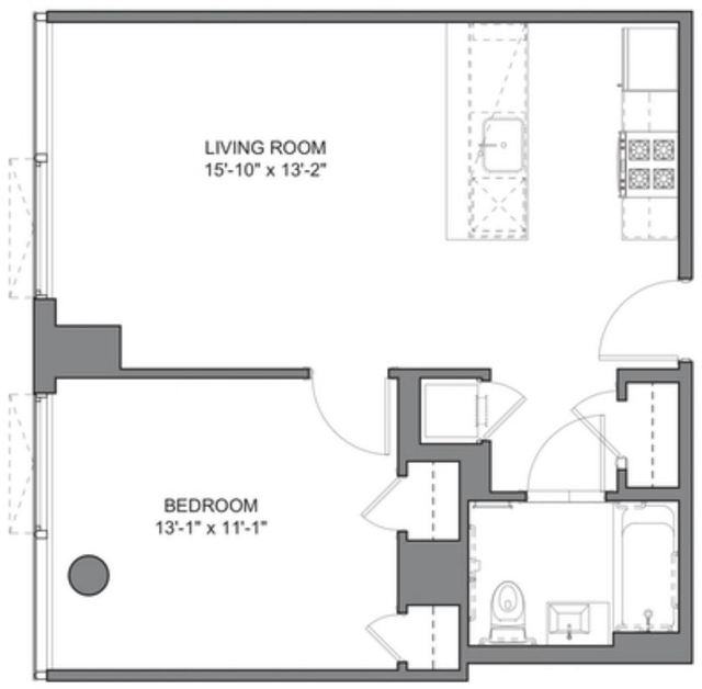 1 Bedroom, DUMBO Rental in NYC for $4,055 - Photo 2