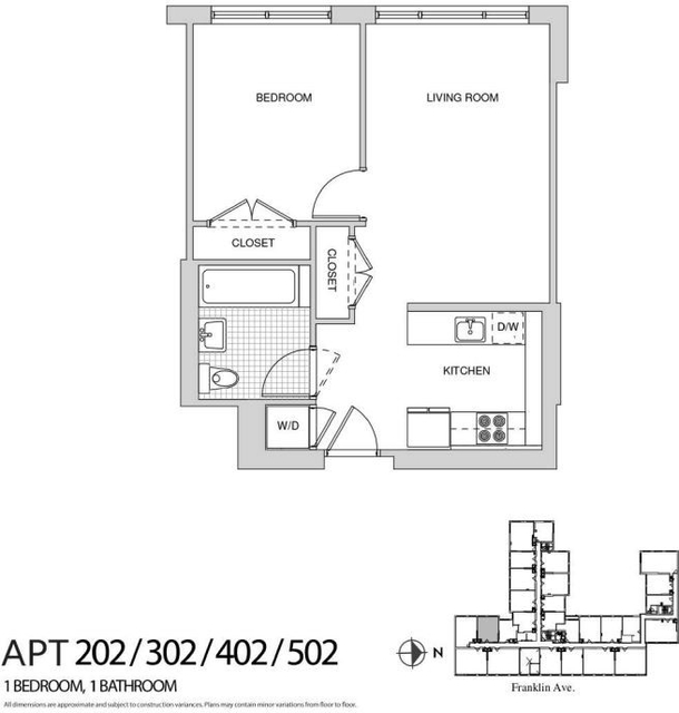 1 Bedroom, Bedford-Stuyvesant Rental in NYC for $2,895 - Photo 2
