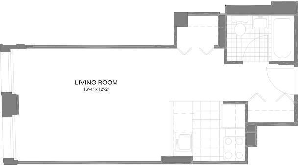 1 Bedroom, Financial District Rental in NYC for $2,995 - Photo 2