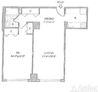 1 Bedroom, Yorkville Rental in NYC for $3,278 - Photo 2