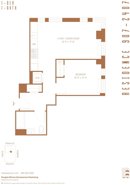 1 Bedroom, Lower East Side Rental in NYC for $4,884 - Photo 2