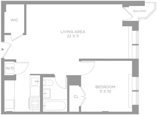 1 Bedroom, Chelsea Rental in NYC for $4,725 - Photo 2