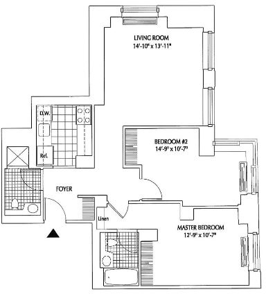 2 Bedrooms, Financial District Rental in NYC for $5,440 - Photo 2