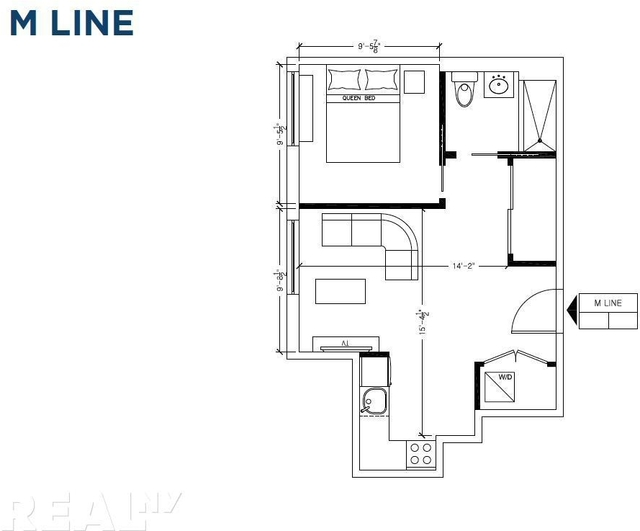 1 Bedroom, Two Bridges Rental in NYC for $3,597 - Photo 2