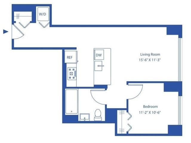 1 Bedroom, Astoria Rental in NYC for $2,557 - Photo 2