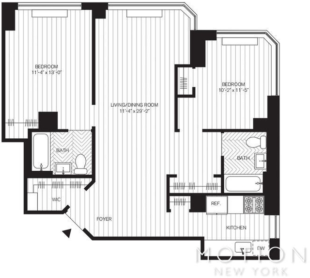 3 Bedrooms, Yorkville Rental in NYC for $4,705 - Photo 2