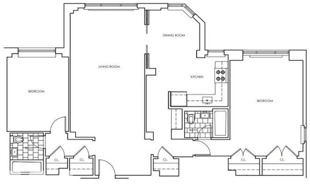 2 Bedrooms, Murray Hill Rental in NYC for $6,750 - Photo 2