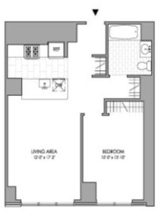 2 Bedrooms, Hell's Kitchen Rental in NYC for $3,923 - Photo 2