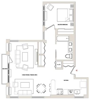 1 Bedroom, Brooklyn Heights Rental in NYC for $4,895 - Photo 2