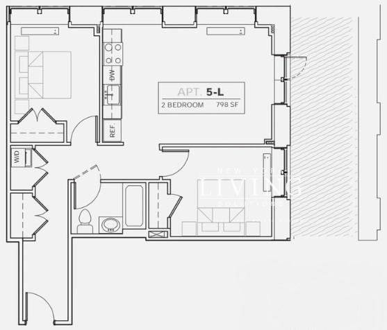 1 Bedroom, DUMBO Rental in NYC for $5,895 - Photo 2