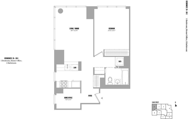 2 Bedrooms, Chelsea Rental in NYC for $4,730 - Photo 1
